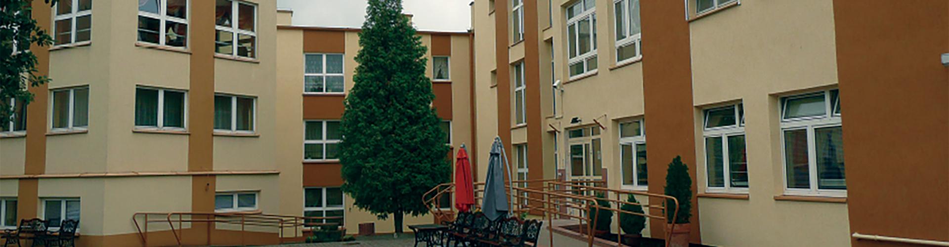Budynek Domu Pomocy Społecznej w Koninie
