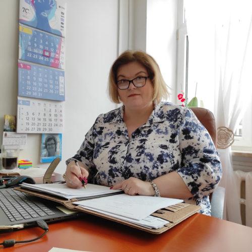 Dyrektor DPS Konin Magdalena Gielniak Sobczak
