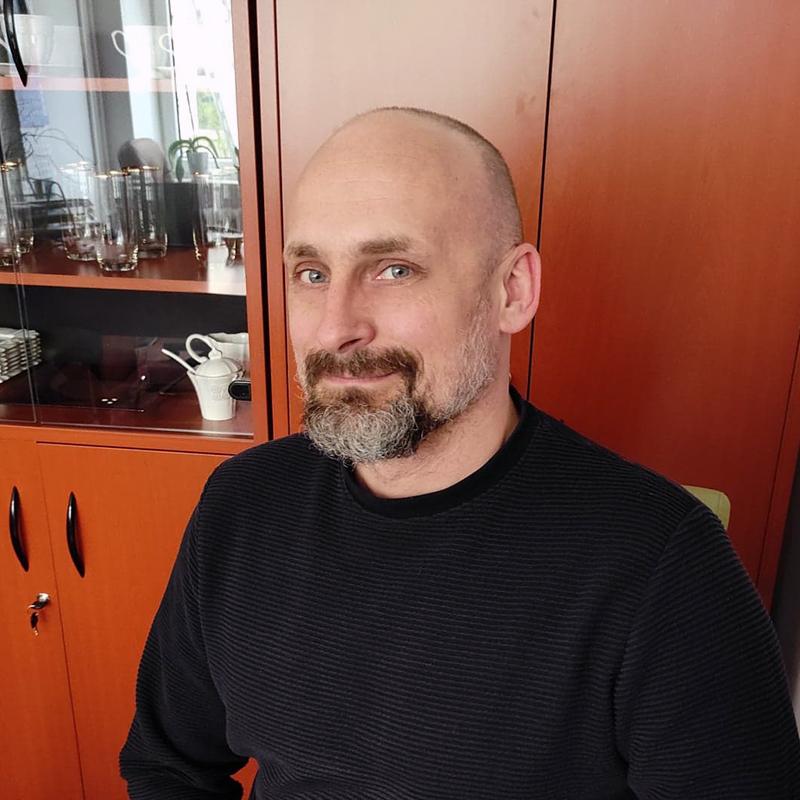 Radosław Karczewski Kierownik Dziennego Domu dla Osób Starszych i Dziennego Domu dla Osób z chorobą Alzheimera